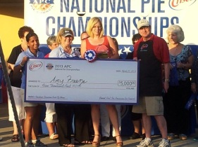 National Pie Championship Win 2013
