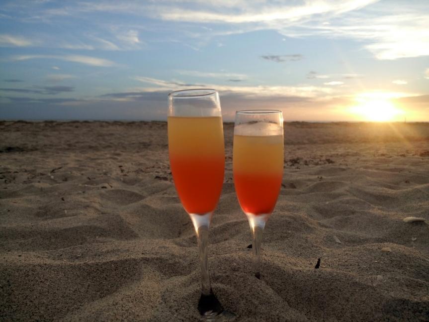 Sunset Wine-tini with CK Mondavi Wine(recipe)